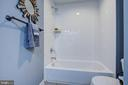 MASTER BATHROOM VIEW 2 - 10311 DETRICK AVE, KENSINGTON