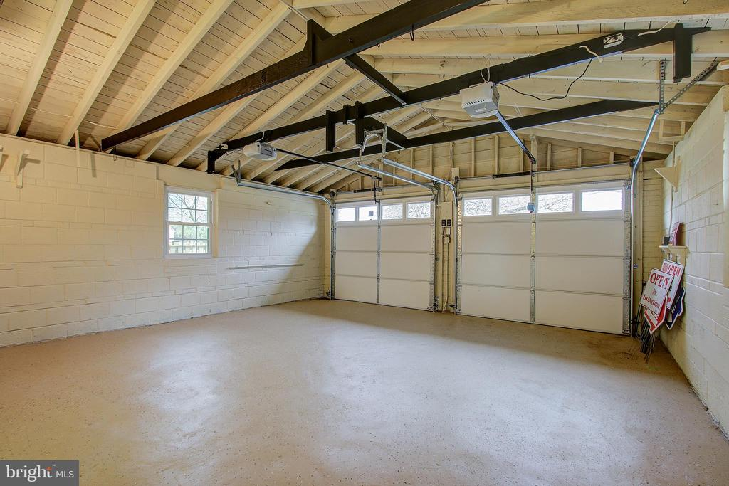 INSIDE 2 CAR GARAGE - 10311 DETRICK AVE, KENSINGTON