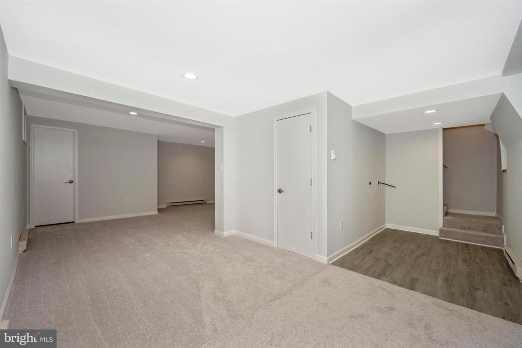Lower Level-Family Room - 8846 MAPLEVILLE RD, MOUNT AIRY