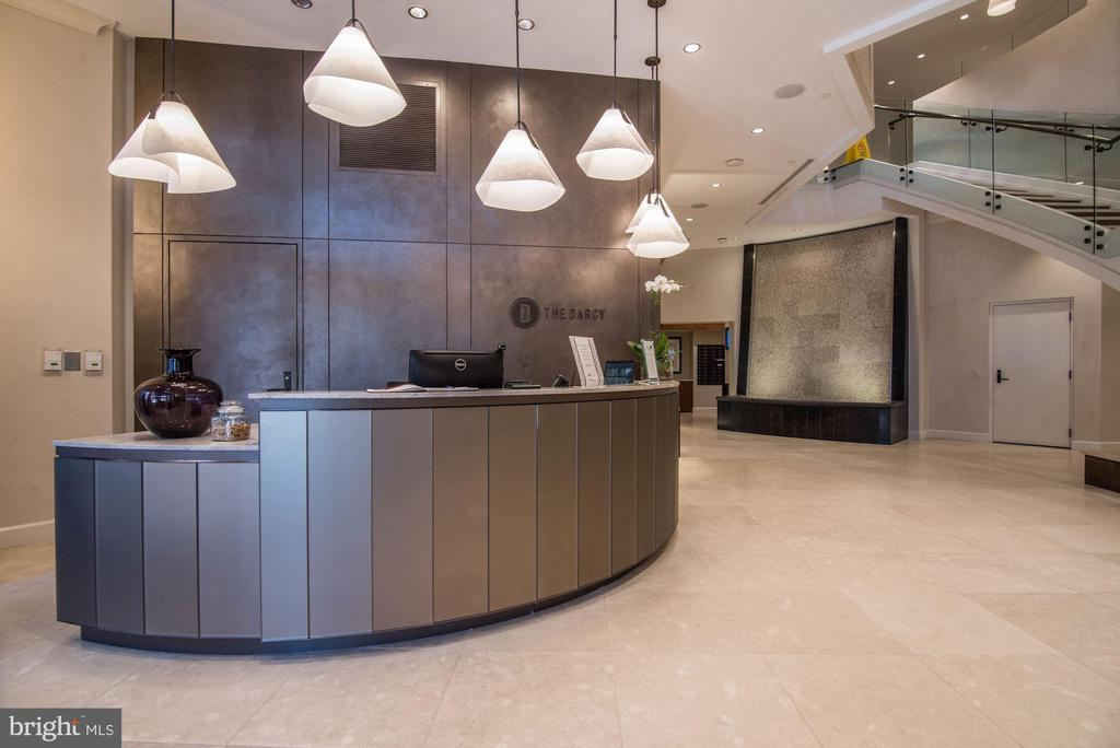 Concierge Desk - 7171 WOODMONT AVE #301, BETHESDA
