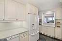 Kitchen with Passthrough - 3800 FAIRFAX DR #1014, ARLINGTON