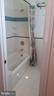 Tub and shower in second floor bath. - 239 W MARKET ST, LEESBURG