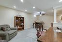 Basement Rec Room - 16731 TINTAGEL CT, DUMFRIES