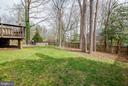 Backyard - 16731 TINTAGEL CT, DUMFRIES