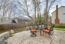 Patio - 16731 TINTAGEL CT, DUMFRIES