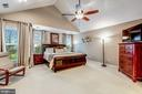 Master Bedroom w/ Cathedral Ceiling & Views - 20024 VALHALLA SQ, ASHBURN