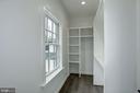Walk-in closet bedroom #2 - 1916 RHODE ISLAND AVE, MCLEAN