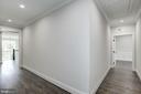 Hallway to bonus space/bedroom #5 above the garage - 1916 RHODE ISLAND AVE, MCLEAN