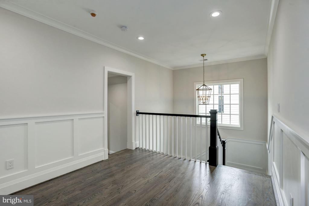 Foyer area from back staircase - 1916 RHODE ISLAND AVE, MCLEAN