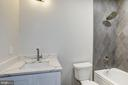 Lower level bathroom #8 - 1916 RHODE ISLAND AVE, MCLEAN