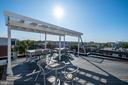 Quiet roof deck provides sun all day and is - 340 ADAMS ST NE #104, WASHINGTON