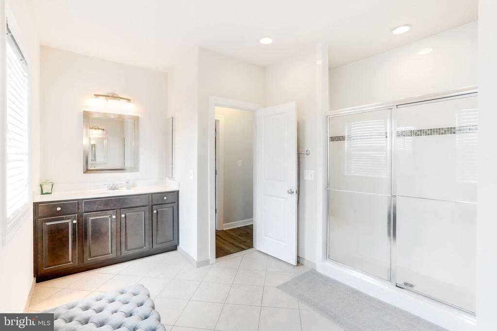 Luxury Master Bathroom - 20673 HOLYOKE DR, ASHBURN