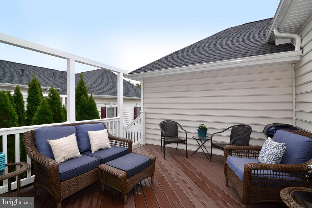 Intimate Back Deck - 22988 CHERTSEY ST, ASHBURN