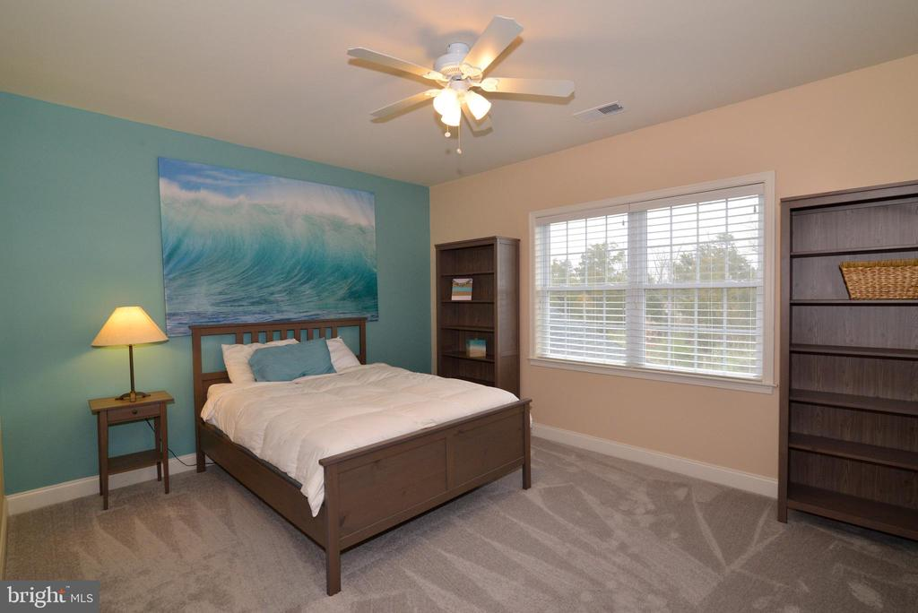Bedroom 2 with Ceiling Fan - 22988 CHERTSEY ST, ASHBURN