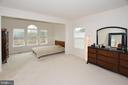 Master bedroom ( Extended sun room) in main level - 25693 ARBORSHADE PASS PL, ALDIE