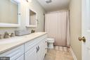 Hall Bath with two sinks - 13356 GLEN TAYLOR LN, HERNDON