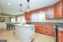 Remodeled Gourmet Kitchen - 13356 GLEN TAYLOR LN, HERNDON