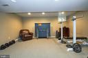Lower level recreation room - 13356 GLEN TAYLOR LN, HERNDON