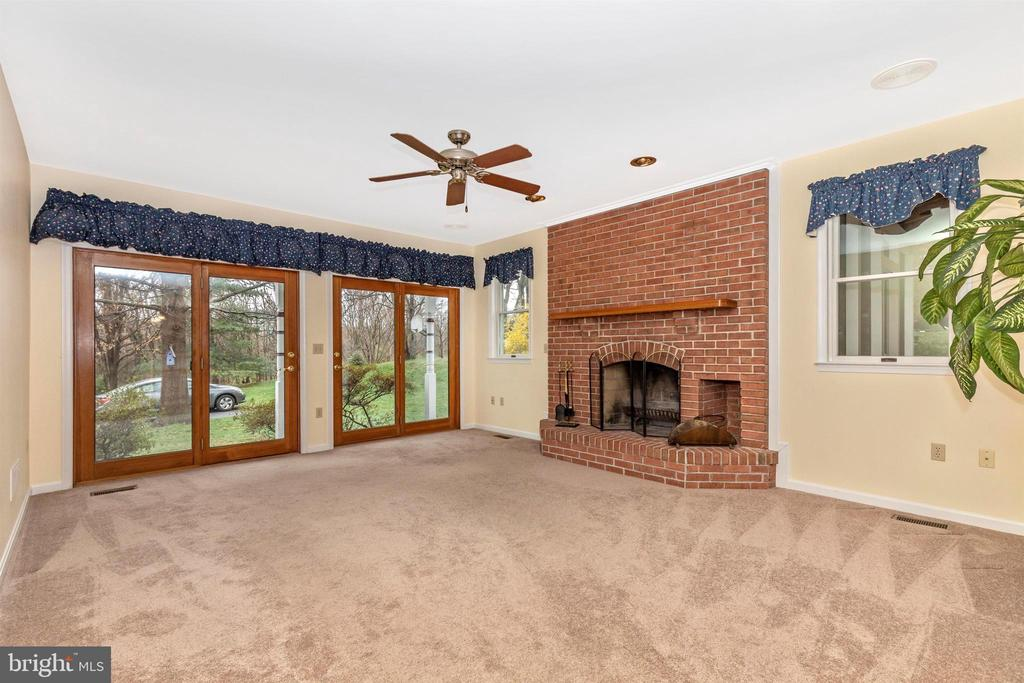 Double french doors for light and view! - 7799 COBLENTZ RD, MIDDLETOWN