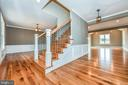 Entry way Foyer - 4802 COWMANS CT NORTH, MOUNT AIRY