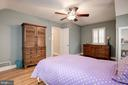 Another view of bedroom three - 6804 BROXBURN DR, BETHESDA