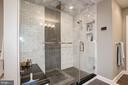 Gorgeous owner's shower! - 6804 BROXBURN DR, BETHESDA