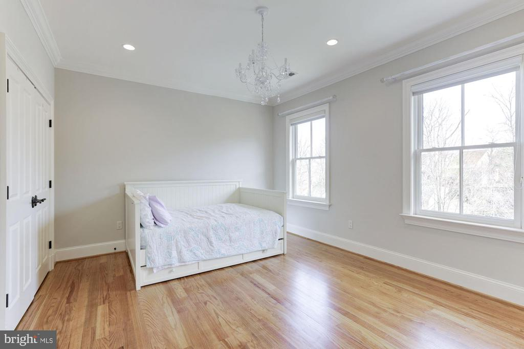Bedroom # 3  Hardwood Floors -Custom Closets - 2330 N VERMONT ST, ARLINGTON