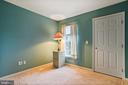 BEDROOM WITH BEAUTIFUL WALL COLOR - 202 JENNINGS CT SE, LEESBURG