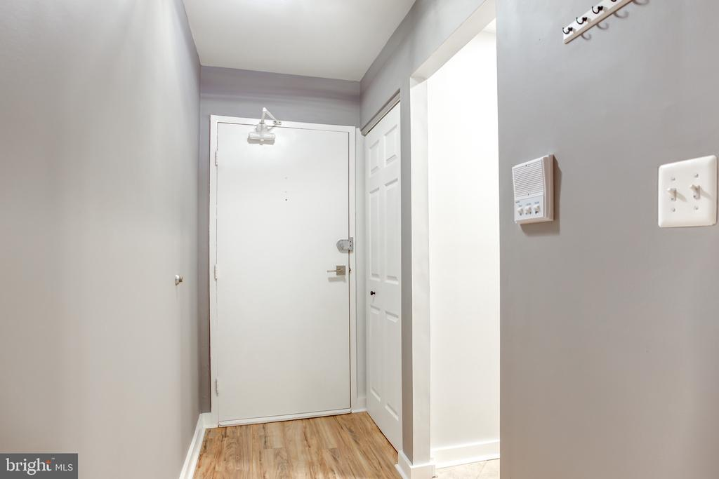 Front Door near kitchen entrance - 1948 KENNEDY DR #101, MCLEAN