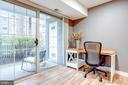 Extra area for a desk or reading area near sliders - 1948 KENNEDY DR #101, MCLEAN