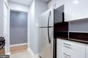 Clean Sparkling White Cabinets, POP with Black - 1948 KENNEDY DR #101, MCLEAN