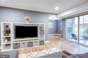 Large Living Room with lots of light - 1948 KENNEDY DR #101, MCLEAN