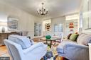 Living room 2 - 3715 BRADLEY LN, CHEVY CHASE