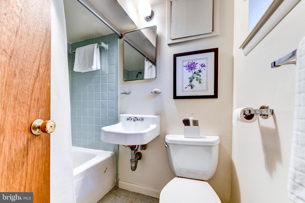 Lower level bath - 3715 BRADLEY LN, CHEVY CHASE
