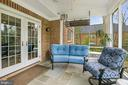 Another view of the screened porch - 6804 BROXBURN DR, BETHESDA