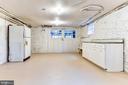 Former garage with plentiful storage - 3715 BRADLEY LN, CHEVY CHASE