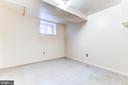 Lower level bedroom - 3715 BRADLEY LN, CHEVY CHASE