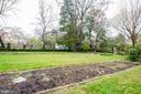 Rear garden - 3715 BRADLEY LN, CHEVY CHASE