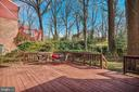 Huge Deck - 1540 LIVE OAK DR, SILVER SPRING