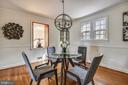 Formal Dining Room - 1540 LIVE OAK DR, SILVER SPRING
