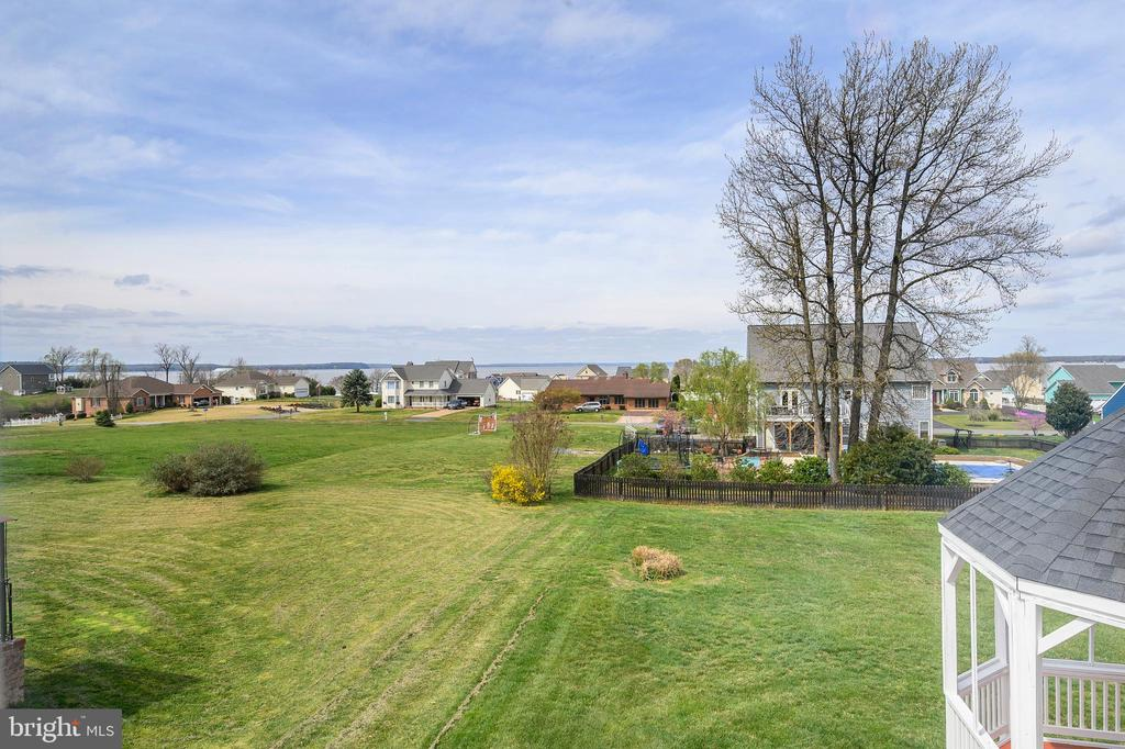 View of  Potomac River from Rear of Home - 6126 MARINEVIEW RD, KING GEORGE