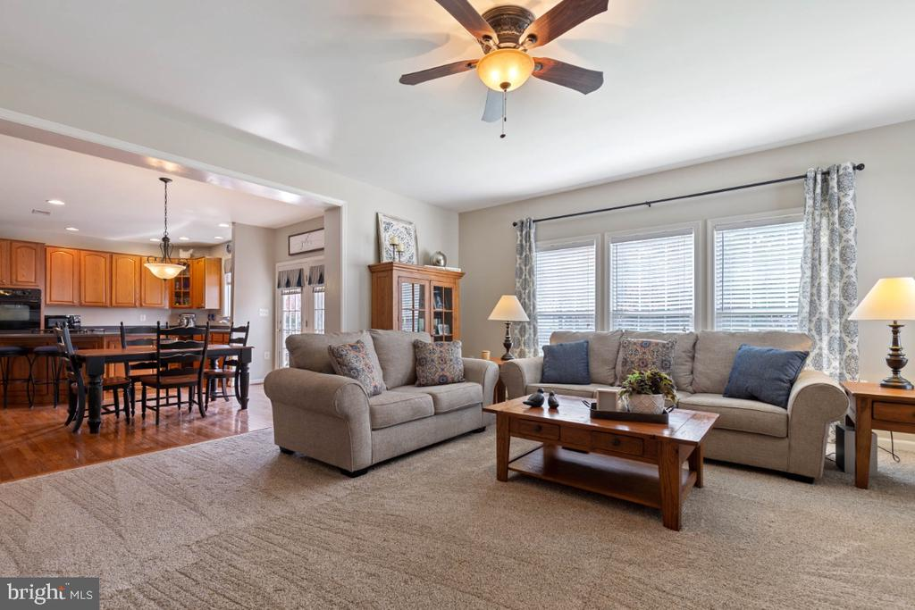 Large Family Room with New Carpet - 215 ALPINE DR SE, LEESBURG
