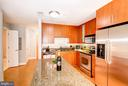 Kitchen - Generously Sized Kitchen Island! - 910 M ST NW #525, WASHINGTON