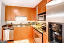 Kitchen - Modern & Custom Back Splash! - 910 M ST NW #525, WASHINGTON