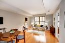 Dining Area + Living Room - Open Concept! - 910 M ST NW #525, WASHINGTON