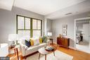 Living Room - Freshly Painted Top-to-Bottom! - 910 M ST NW #525, WASHINGTON
