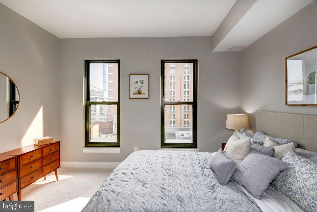 Master Bedroom - Freshly Painted Top-to-Bottom! - 910 M ST NW #525, WASHINGTON
