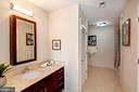 Master Bathroom  - VERY Spacious! - 910 M ST NW #525, WASHINGTON