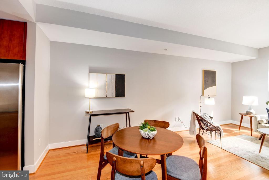 Dining Area - Hardwood Floors! - 910 M ST NW #525, WASHINGTON