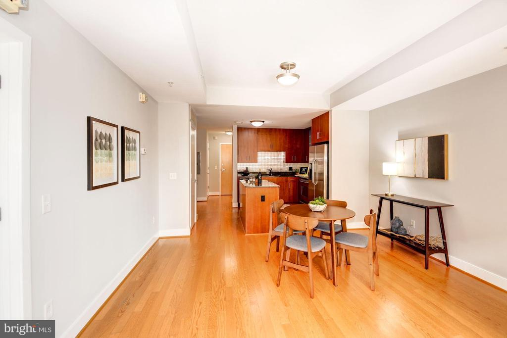 Dining Area - Truly a Large Dining Space! - 910 M ST NW #525, WASHINGTON